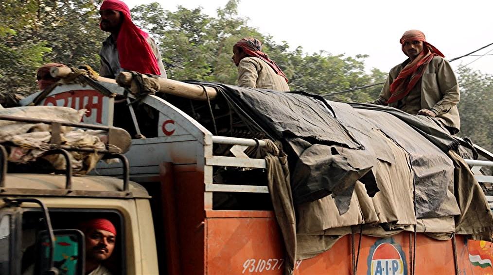 56 Delhi trafic