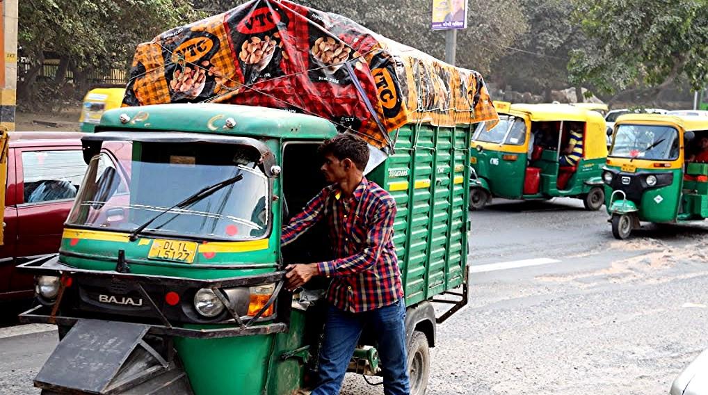 57 Delhi trafic