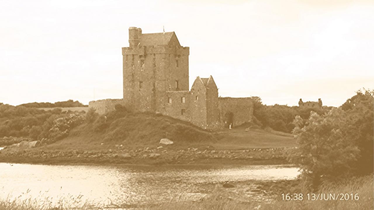 P1000839  Kinvarra -Dunguaire  chateau Retro