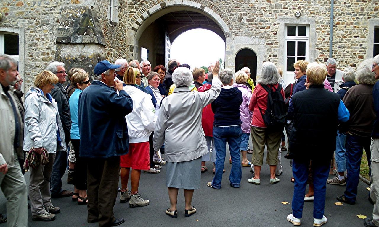 visite de l'abbaye
