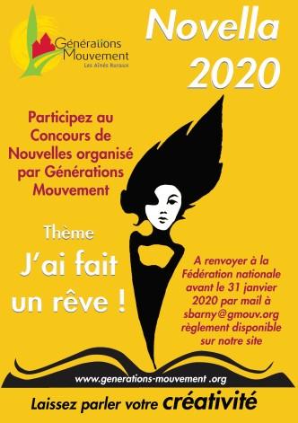 Affiche novella 2020